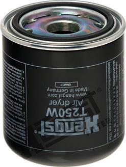 Hengst Filter T250W - Патрон осушителя воздуха, пневматическая система mavto.com.ua