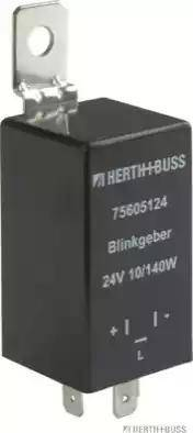 Herth+Buss Elparts 75605124 - Прерыватель указателей поворота mavto.com.ua