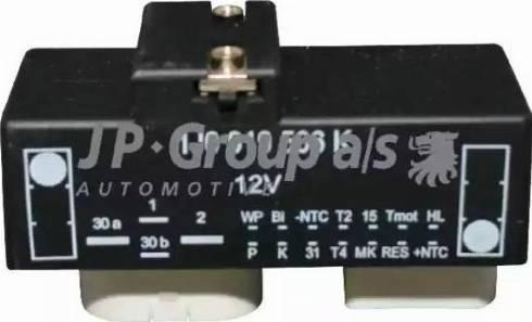 JP Group 1199150100 - Блок управления, эл. вентилятор (охлаждение двигателя) mavto.com.ua
