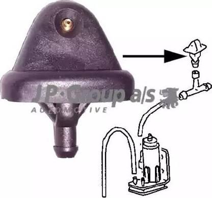 JP Group 1198700100 - Распылитель воды для чистки, система очистки окон mavto.com.ua