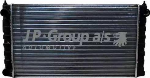 JP Group 1114201900 - Радиатор, охлаждение двигателя mavto.com.ua