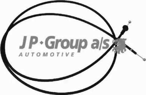 JP Group 1170700200 - Тросик замка капота mavto.com.ua