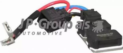 JP Group 1399150100 - Блок управления, эл. вентилятор (охлаждение двигателя) mavto.com.ua