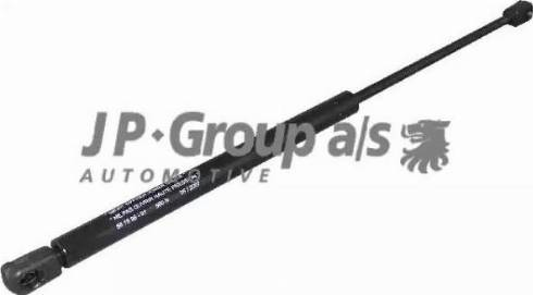 JP Group 1281201500 - Газовая пружина, крышка багажник mavto.com.ua
