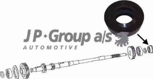 JP Group 8132100100 - Уплотнительное кольцо вала, приводной вал mavto.com.ua