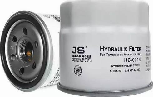 JS Asakashi HC0014 - Гидрофильтр, автоматическая коробка передач mavto.com.ua