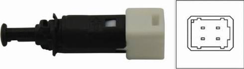 Kavo Parts EBL-5502 - Выключатель фонаря сигнала торможения mavto.com.ua