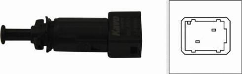 Kavo Parts EBL-6501 - Выключатель фонаря сигнала торможения mavto.com.ua
