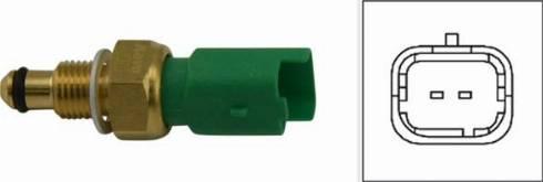 Kavo Parts ECT-6511 - Датчик, температура охлаждающей жидкости mavto.com.ua