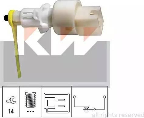 KW 510153 - Выключатель, привод сцепления (Tempomat) mavto.com.ua