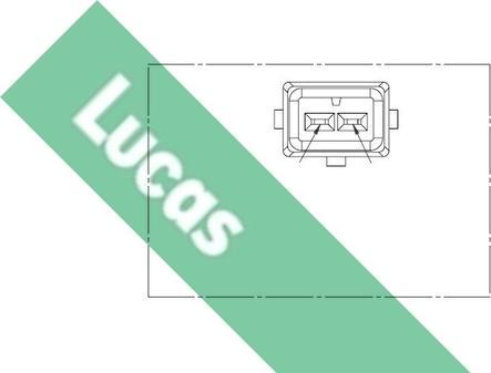 LUCAS SEB164 - Датчик импульсов, коленвал mavto.com.ua