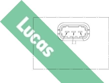 LUCAS SEB1257 - Датчик частоты вращения, ступенчатая коробка передач mavto.com.ua