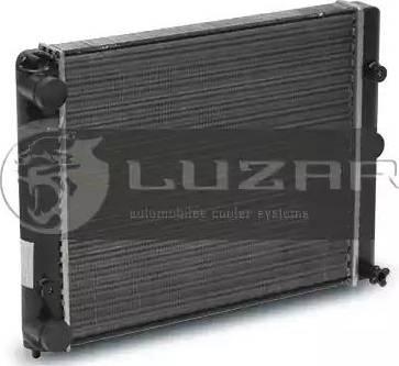 Luzar LRc 0410 - Радиатор, охлаждение двигателя mavto.com.ua