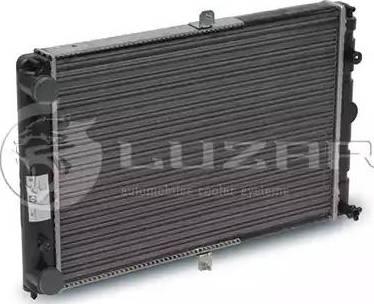 Luzar LRc 01082 - Радиатор, охлаждение двигателя mavto.com.ua