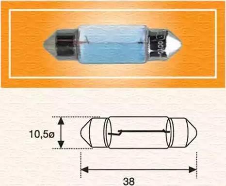 Magneti Marelli 009418100000 - Лампа накаливания mavto.com.ua