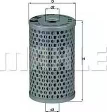 Mahle Original HX15 - Гидрофильтр, рулевое управление mavto.com.ua