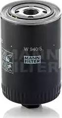 Mann-Filter W 940/5 - Фильтр, Гидравлическая система привода рабочего оборудования mavto.com.ua