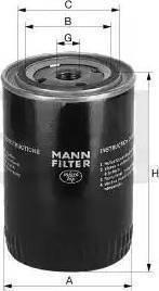 Mann-Filter W 712/4 - Фильтр, Гидравлическая система привода рабочего оборудования mavto.com.ua