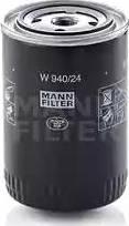 Mann-Filter W 940/24 - Фильтр, Гидравлическая система привода рабочего оборудования mavto.com.ua