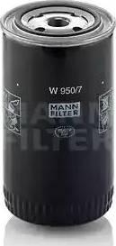 Mann-Filter W 950/7 - Фильтр, Гидравлическая система привода рабочего оборудования mavto.com.ua
