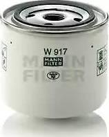 Mann-Filter W 917 - Фильтр, Гидравлическая система привода рабочего оборудования mavto.com.ua