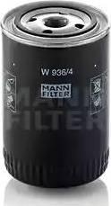 Mann-Filter W 936/4 - Фильтр, Гидравлическая система привода рабочего оборудования mavto.com.ua