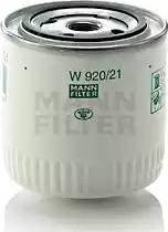 Mann-Filter W 920/21 - Фильтр, Гидравлическая система привода рабочего оборудования mavto.com.ua