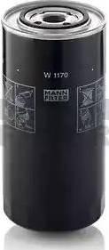 Mann-Filter W 1170 - Гидрофильтр, рулевое управление mavto.com.ua