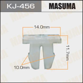 MASUMA KJ-456 - Зажим, молдинг / защитная накладка mavto.com.ua