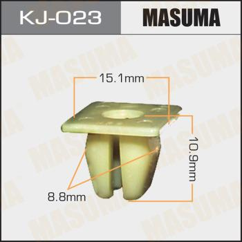 MASUMA KJ-023 - Зажим, молдинг / защитная накладка mavto.com.ua