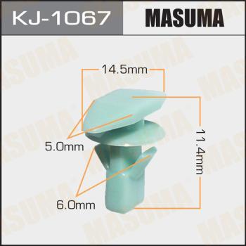 MASUMA KJ-1067 - Зажим, молдинг / защитная накладка mavto.com.ua