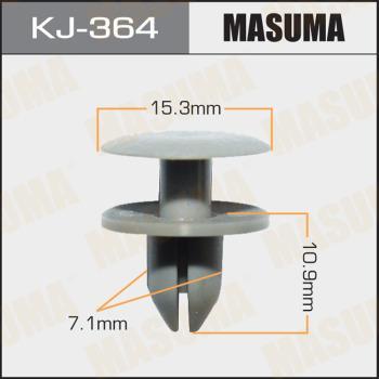 MASUMA KJ-364 - Зажим, молдинг / защитная накладка mavto.com.ua