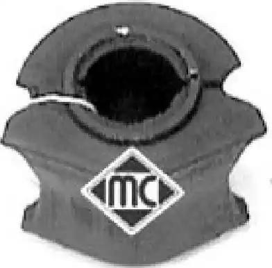 Metalcaucho 02945 - Втулка стабилизатора, нижний сайлентблок mavto.com.ua