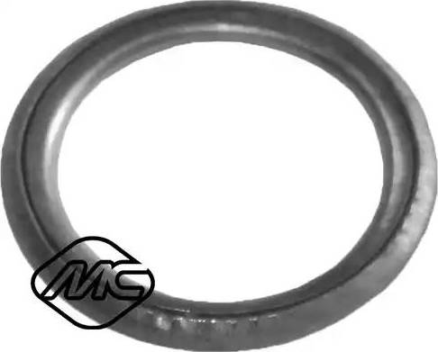 Metalcaucho 02001 - Уплотнительное кольцо, резьбовая пробка маслосливного отверстия mavto.com.ua