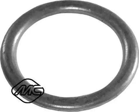 Metalcaucho 02002 - Уплотнительное кольцо, резьбовая пробка маслосливного отверстия mavto.com.ua