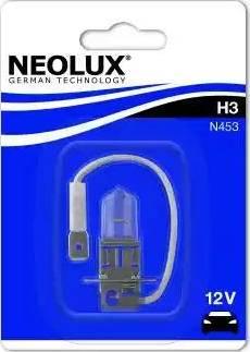 NEOLUX® N453-01B - Лампа накаливания, фара с автоматической системой стабилизации mavto.com.ua