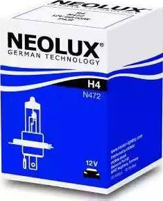 NEOLUX® N472 - Лампа накаливания, противотуманная фара mavto.com.ua
