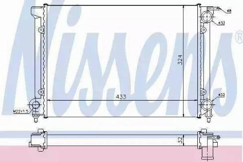Ava Quality Cooling VWA 2040 - Радиатор, охлаждение двигателя mavto.com.ua