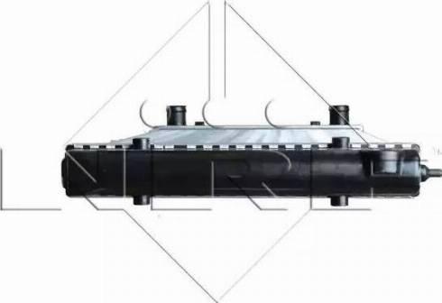 NRF 509501 - Радиатор, охлаждение двигателя mavto.com.ua