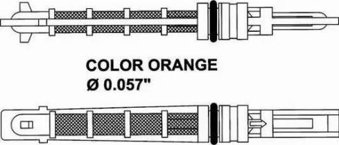 NRF 38449 - Расширительный клапан, кондиционер mavto.com.ua