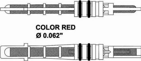 NRF 38208 - Расширительный клапан, кондиционер mavto.com.ua
