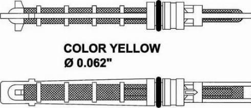 NRF 38212 - Расширительный клапан, кондиционер mavto.com.ua