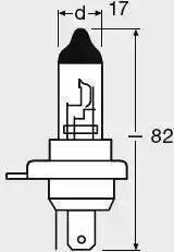 Osram 64193CLC - Лампа накаливания, противотуманная фара mavto.com.ua