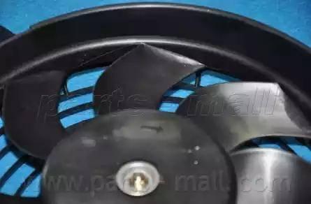 Parts-Mall PXNBC-006 - Вентилятор, конденсатор кондиционера mavto.com.ua