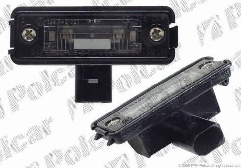 Polcar 9541958E - Фонарь освещения номерного знака mavto.com.ua