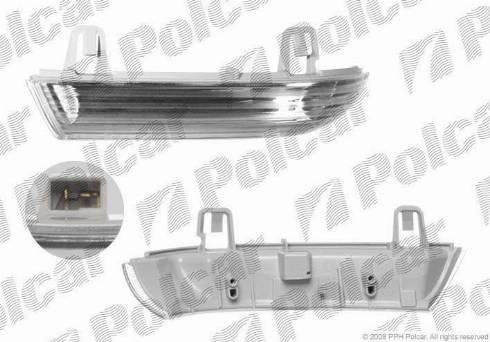 Polcar 9513205X - Боковой фонарь, указатель поворота mavto.com.ua