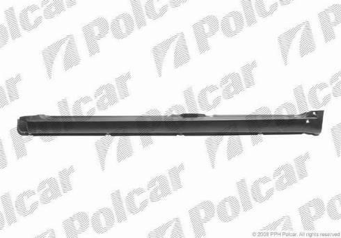 Polcar 953441-1 - Подножка, накладка порога mavto.com.ua