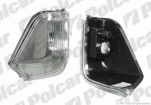 Polcar 5065196X - Боковой фонарь, указатель поворота mavto.com.ua