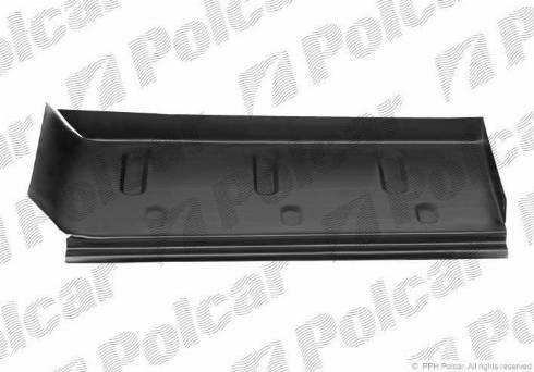 Polcar 50613914 - Подножка, накладка порога mavto.com.ua