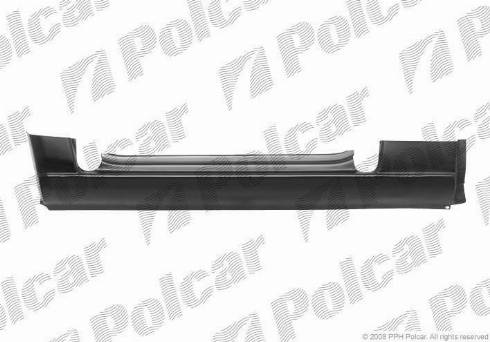 Polcar 506241-3 - Подножка, накладка порога mavto.com.ua